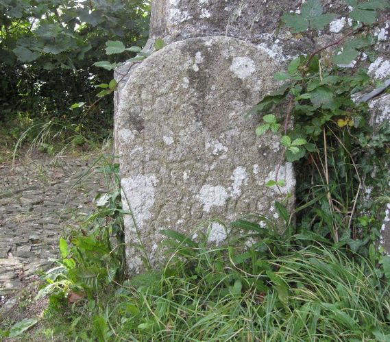 There is also a rather beautiful late 18th or early 19th century slate headstone
