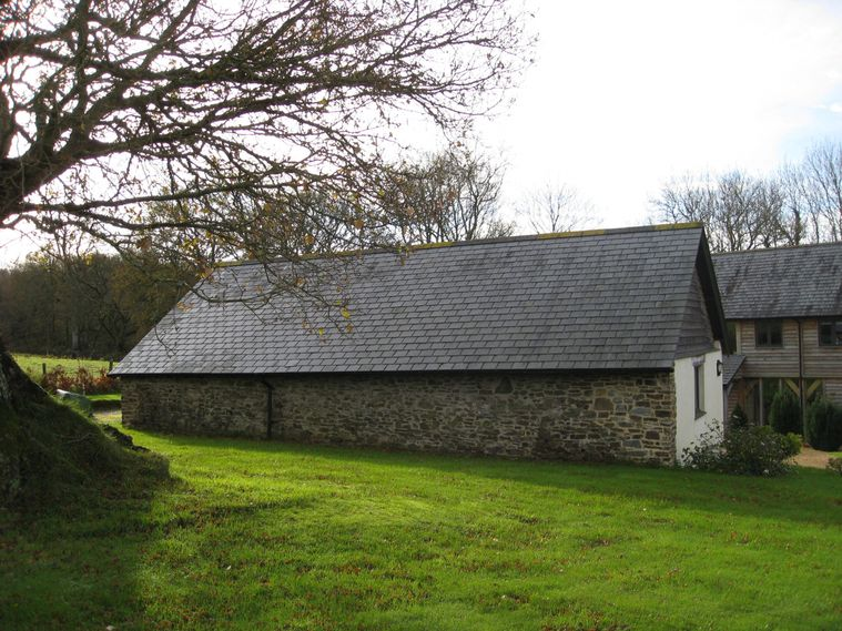 The converted buildings at Crofters Barn