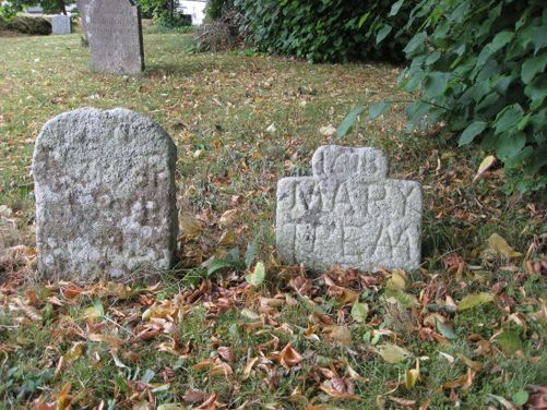 Mary Tremlett headstone ?1678 (listed).